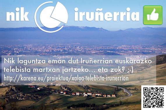 20 egun Iruñerriko euskarazko telebista pizteko