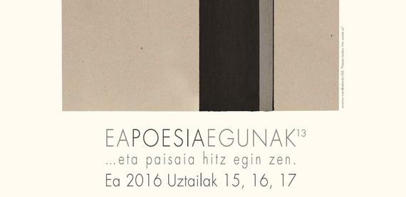 2016ko Eako Poesia Egunak