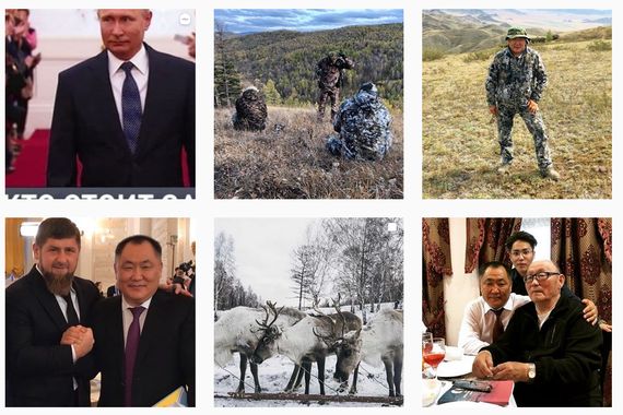 Errusiako politikarien Instagram-eko mundu zoragarria