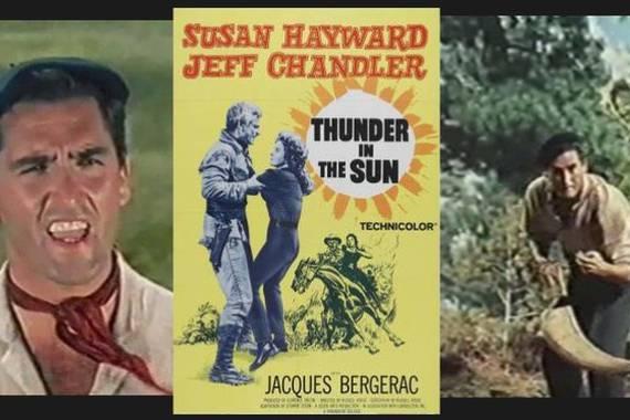 Xistera-borroka Bartzelonan, Thunder in the Sun filmean bezalaxe