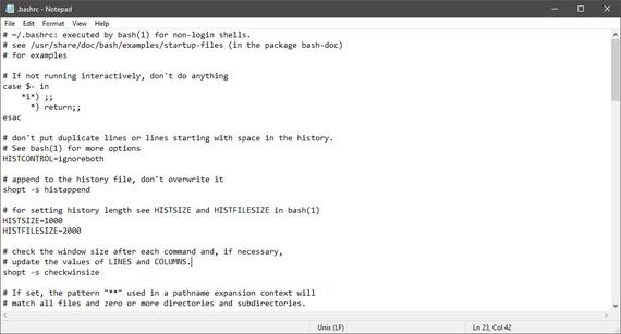 Azkenean! Windowsen Notepad testu-editoreak Unix, Linux eta macOS-eko lerro jauziak onartuko ditu