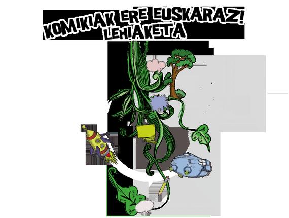 """""""Komikiak ere euskaraz"""" lehiaketa"""