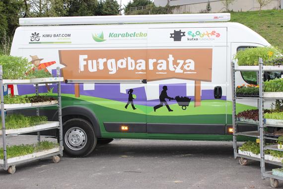 Furgobaratza, baratze ekologikoen inguruko informazio ibiltarua