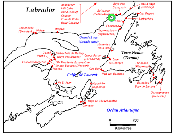 Euskaldunek eta inuitek truke komertzialak izan zituzten
