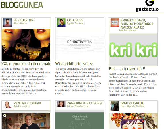 Gaztezuloren Blog-Gunea, blogari komunitate berria