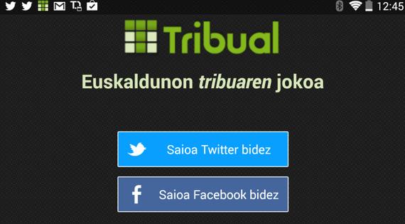 Tribual, euskaldunon tribuaren jokoa, mugikor eta tabletetarako