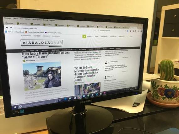 Aiaraldea Gaur: marka, webgune eta app berrituak
