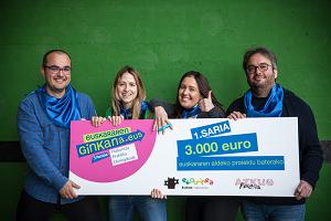 Lizarrako Mintzamendipintxopotepraktika taldeak irabazi du Euskararen Ginkanako 5. edizioa!