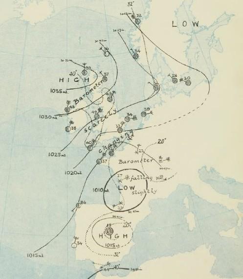 WeatherRescue, datu meteorologiko historikoak digitalizatu eta gorde nahi dituen proiektua