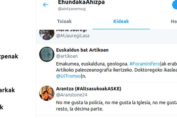 Euskal emakume txiolarien ikusgarritasunaren alde